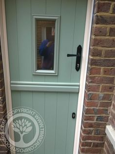 More great examples of fitted Solidor Composite doors by Timber Composite Doors, all available as for both DIY and Fully professionally fitted, design yours now online for free at the link below Chartwell Green Front Door, Green Front Doors, Doors Online, Composite Door, Kitchen Doors, Stables, New Homes, Exterior, Spirals