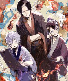 Hoozuki & Nasubi & Karauri | Hoozuki No Reitetsu #anime