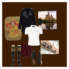 """Harry Potter"" by rebecca-rhein on Polyvore featuring Polo Ralph Lauren and Gap"