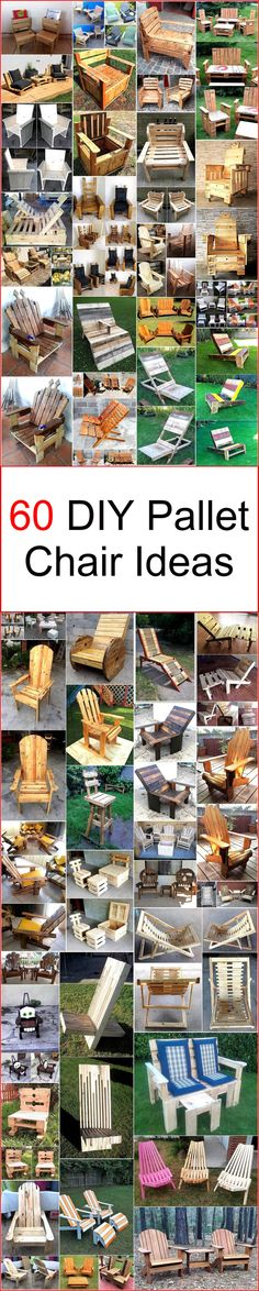 Now it's time to decorate your home, office, school, restaurant, and bar area with a modern looking and fashionable seating furniture. So by keeping your desires in mind, we have artistically constructed these DIY pallet chairs to provide sturdy seating items by saving your money from wasting on ready-made and old-fashioned wooden chairs.