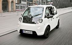 2011 Mia Electric. Production Electric City Car. 249 cars sold in France in 2011. 2012 model available now in the UK for €19,500