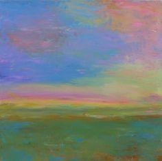 Kaleidescope (2016) 30x30 finger painting