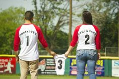 Baseball Gender Reveal, Baby Boy Baseball, Baseball Pregnancy Announcement, Pregnancy Announcements, Pollo Thai, Creative Baby Announcements, Expecting Baby, Baby On The Way, Second Child
