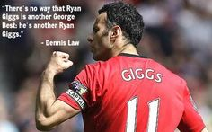 Happy birthday to a Manchester United Legend, Ryan Giggs!