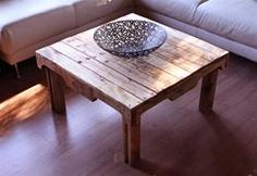 another pallet coffee table idea