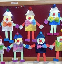Preschool Crafts, Fun Crafts, Diy And Crafts, Crafts For Kids, Arts And Crafts, Kids Carnival, Shape Pictures, School Labels, Class Decoration
