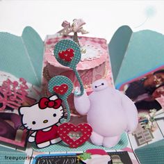 Hello kitty and baymax