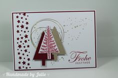 Handmade by Julie: Stampin' Up! Christbaumfestival