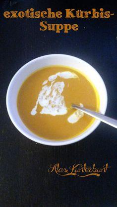 exotische Kürbissuppe im Slowcooker #crockpot
