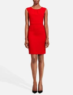 The Limited has a perfect red dress. It is just $98, costs much less and looks better than any others I saw so far. This dress is going to be for my bridesmaids.