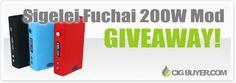 Enter to Win a Sigelei Fuchai 200W Mod from @CigBuyer: http://www.cigbuyer.com/sigelei-fuchai-200w-mod-giveaway/ #ecigs #vaping #sigelei #vapelife #vapecontest #vapegiveaway