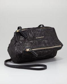 Givenchy Mini Pandora Crossbody Bag, Black - Bergdorf Goodman