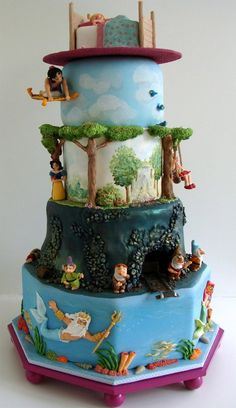 From Wall-E and Eve Love Cake to the Up movie cake let's look at these awesome Disney cakes. Continue reading