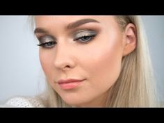 GREEN SMOKEY EYES WITH SWEET PEACH PALETTE / AGNES LOVISE - YouTube