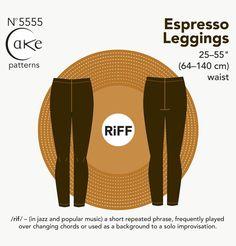 5555 - EXPRESSO LEGGINGS (PDF)
