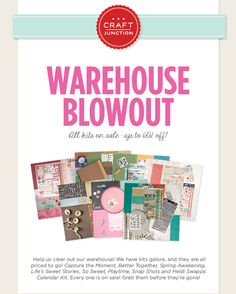 Up to 60% off your favorite kits! Hurry over to www.craftjunction.com today!