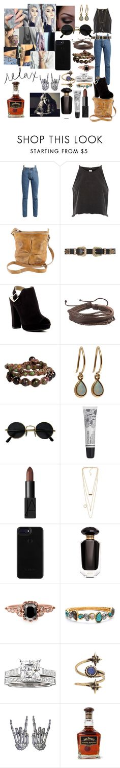 """Mustaine's."" by winter-n-rose ❤ liked on Polyvore featuring Vetements, River Island, Bed