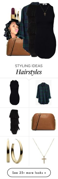 """""""2/3/16"""" by xtaymaxlovesxmisfitx on Polyvore featuring Tom Ford, Michael Kors, MICHAEL Michael Kors, Madewell, Minnetonka, women's clothing, women, female, woman and misses"""
