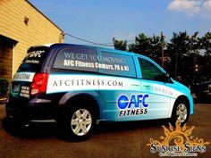Fitness Center Vehicle Wraps!