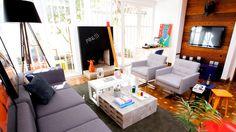 mesa de centro de bloquinhos de concreto (!!!) bem casa de arquiteta
