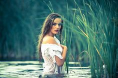 Photoshoot in the lake