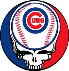 Grateful Dead Cubs Logo