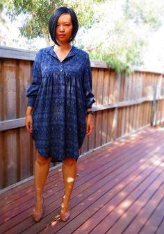Pattern Reviews> BurdaStyle Magazine> 10-2010-122 (Sheer Placket Dress with Slip)