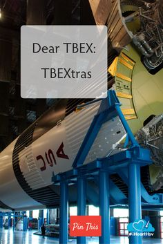 Dear TBEX: TBEXtras