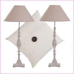 Sorteo Wit+Wit: set de 2 lámparas de mesa y un cojín