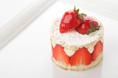 Strawberries and cream by Marcello Tully