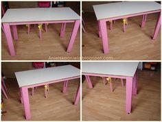 Diy Tutorial Basic Table    Jak zrobić i przerobić stół ,stolik Krok po kroku