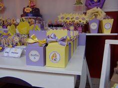 SD Eventos: RAPUNZEL Candy Bar Rapunzel Tangled birthday party Golosinas personalizadas Mesas temáticas Cajitas golosineras Candy bags Party favors