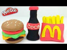 Jose Play-doh Dentista vai na Lanchonete Burger Mania com Muita Fome!!! Em Portugues Tototoykids - YouTube