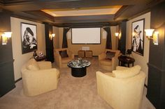 Now this the way you should watch a movie in your house in this #theater room!