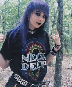 Band tees are everything // Neck Deep Rainbows T-Shirt
