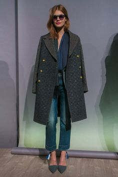 A look from the J. Crew Fall 2015 RTW collection.