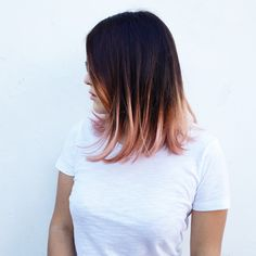 Rose gold ombré. #rosegold #ombre #perfection getting this style soon (: how do you like it? Comment and follow (: