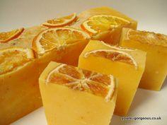 Orange Butter Soap 1kg Log, £25.00