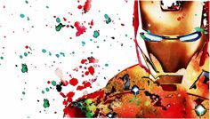 Tattoo Watercolor Men Iron Man Ideas For 2019 Watercolor Tattoo, Watercolor Paintings, Painting Art, Iron Man Poster, Iron Man Art, God Tattoos, Marvel Tattoos, Trendy Tattoos, Animal Tattoos