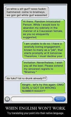 Funny drunk text messages, funny drunk texts, drunk humor, funny jokes to t