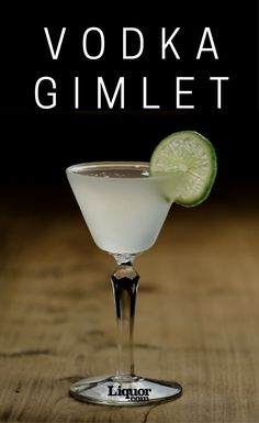The Vodka Gimlet is a classic you definitely need to know! The classic Gimlet takes gin, but many opt for this vodka version.