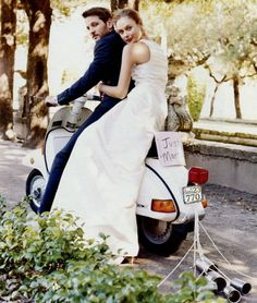 Definitely incorporating my scooter into my wedding!
