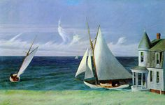The Lee Shore Edward Hopper