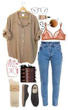"""Ok "" by xeptum ❤ liked on Polyvore featuring Vetements, Vans, Friis & Company, Eres and MAC Cosmetics"