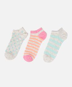 Pack of sorbet ankle socks - OYSHO