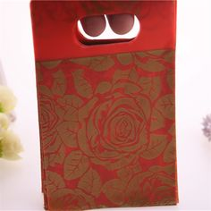 New Design Fashion Wholesale Luxury Red Rose Flower Gift Packaging Bags New Year Small Candy Gift Bags Red Rose Flower, Red Roses, Candy Gifts, Gift Packaging, Wholesale Fashion, News Design, Gift Bags, Mobiles, Computers