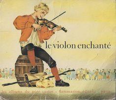 école : références: Le violon enchanté (J.M. Guilcher, Gerda, 1969)