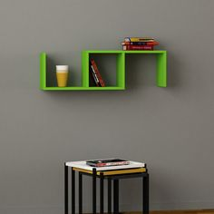Dibi Wall Shelf Green