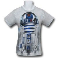 Star Wars Big Face T-Shirts - R2D2