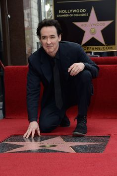 john cusack drunk | John Cusack receives a star on the Hollywood Walk of Fame.(ROBYN BECK ...